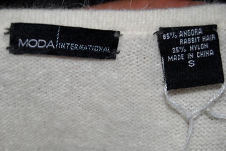 White Sweater Dress on 607 040 White Angora Sweater Dress